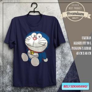 Jual Kaos Distro Keren Anime Kartun Doraemon Santai Spandex Stand