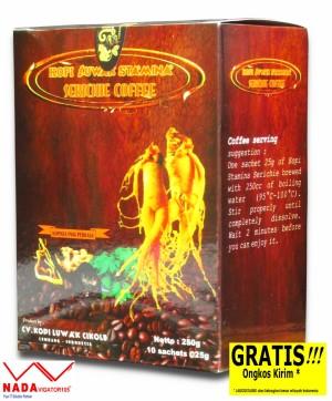 KLC Kopi Luwak Stamina Serichie Coffee 10's 250gr Kopi Gingseng