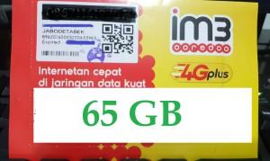 Kartu Perdana data indosat 42gb kuota 42 gb ( 12gb + 25gb + 5gb )