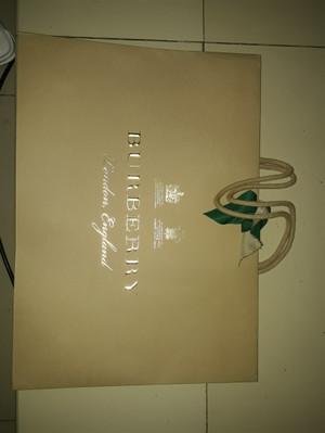 burberry authentic original paper bag medium ori counter