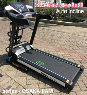 Treadmill electrik OSAKA II am autoincline