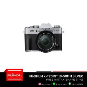 Fujifilm X-T20 16-50mm Silver