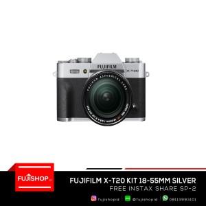 Fujifilm X-T20 18-55mm Silver