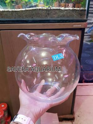 Jual Fish Bowl Shella 4 Liter Aquarium Bulat Toples Ikan Jakarta Pusat Savera Aquarium Tokopedia