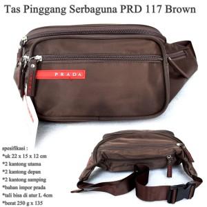 Tas Pinggang Wanita Impor PRD 117 brown
