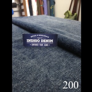 200 - Jual Bahan Denim Non Strech Stone Wash