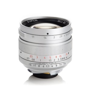 New - 7ARTISANS 50MM F/1.1 FOR LEICA M-MOUNT – SILVER