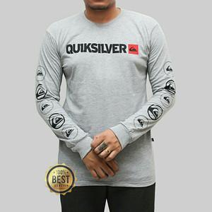 Kaos longseelve Premium Quicksilver Abu 045 Best Of Quality t-shirt