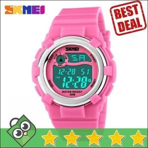 Jam Tangan Anak SKMEI Children Sport LED Watch DG1161 Pink