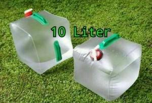 Folding Water Carrier 10 Liter / Jerigen Air Portable
