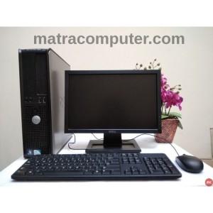 Komputer Sekolah Dell Optiplex 380 Desktop Core2Duo LCD DELL 17 wide