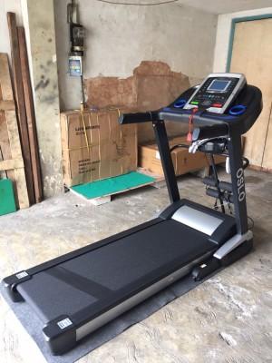 Treadmill elektrik FS OSLO alat fitness lari olahraga fitnes