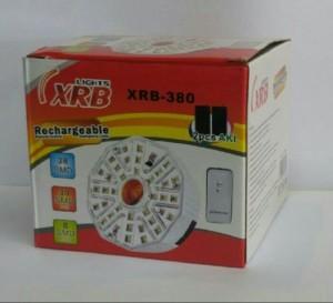 Lampu Emergency Remote XRB-380 (38 LED) / Lampu Darurat Putih Kuning