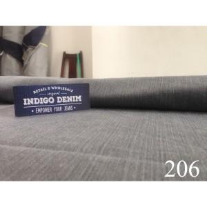 206 - Jual Bahan Denim Non Strech Washed