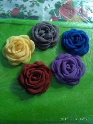 aplikasi bros/apliksa bunga sifon/aplikasi bunga gardenia