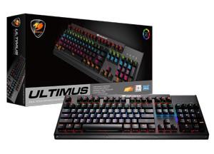 Cougar Mechanical Gaming Keyboard Ultimus RGB Cherry MX Blue Switch