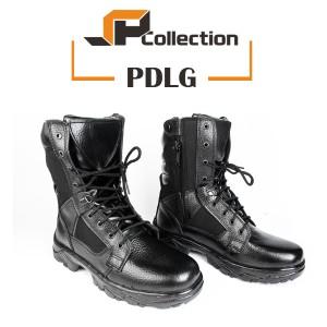 Sepatu PDL PDLG Standart TNI Bahan Sepatu Kulit Asli / Sepatu Militer