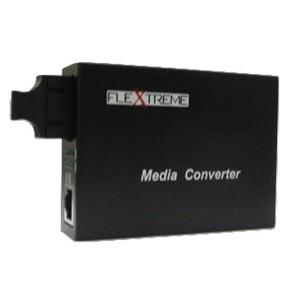 Flextreme FL-8110GSA-11-20-AS Media Converter Gigabit Singlemode SC