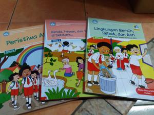 Paket Buku Tematik SD Kelas.1 tema 6,7,8