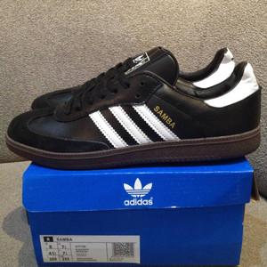 Jual Adidas Samba Black White G17100
