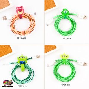 Spiral Cable Protector / Cord Protector / Pelindung Kabel (Seri 10)