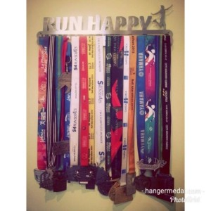 MEDAL HANGER - GANTUNGAN MEDALI - RUN HAPPY