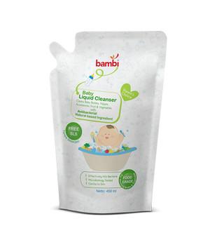Bambi Baby Liquid Cleanser 450ml