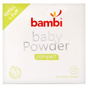 Bambi Baby Powder Compact Refill 40gr