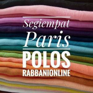 Segiempat Paris Polos Murah (Non Rabbani)