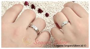 cincin Kawin Cincin Nikah Perak Original 950