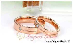 Cincin Tunangan Cincin Perak Cincin Nikah Original Silver