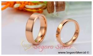 Cincin Emas Perak Cincin Couple Perak Murni