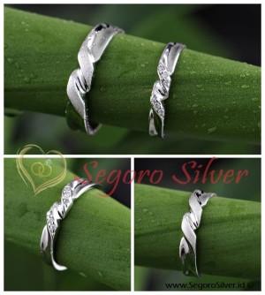 Cincin Couple Cincin Kawin Perak Original Silvers