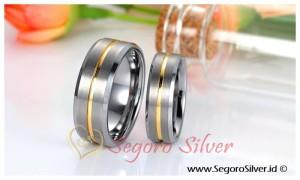Cincin Nikah Perak Asli Silver 950