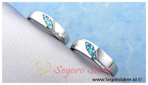 Cincin Nikah Cincin Tunangan Cincin Perak Original Silver