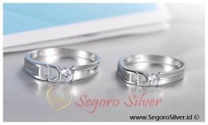 Cincin Hadiah Couple Perak Original