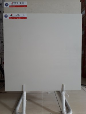 Granito Salsa Crystal Frost White 60x60 Polished