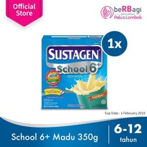 Sustagen School Susu Pertumbuhan Madu 350g Near ED [PROMO]