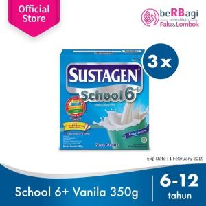 Sustagen School Susu Pertumbuhan Vanila 350g - 3pcs