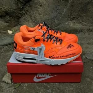 Jual MENARIK SEPATU NIKE AIR MAX AIRMAX ONE 1 JUST DO IT ORANGE PREMIUM QU DKI Jakarta Lben Handmade shoes | Tokopedia