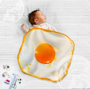 Selimut Bayi Telur Mata Sapi