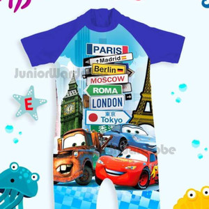 SWIMWEAR ANAK JW70 CARS
