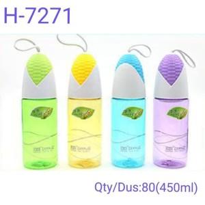 3C10100 Botol Minum Unik Jagung Bpa Free - Water Bottle Straw H 7271 - Random