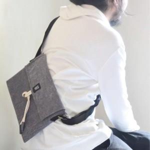Tas Selempang - Waist Bag - Semburart - Grey