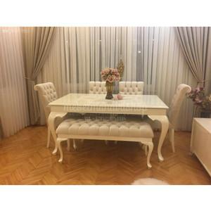 Kursi Sofa Makan Minimalis , Meja Makan, Furniture Jepara