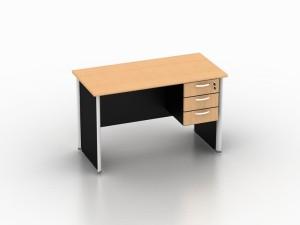 Modera Meja Kantor + Laci Gantung - EOD1260