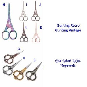 Gunting Retro/Gunting Klasik/Gunting Craft