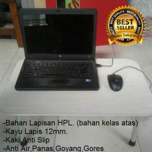 Meja Laptop Portable Lipat Lesehan Komputer Belajar Dewasa Murah