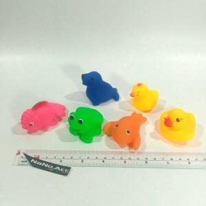 Mainan hewan karet mandi encit encit bebek. duck bath vinyl