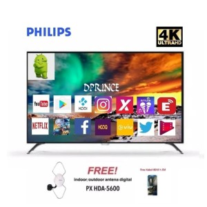 Philips 55PUT6002 4K Smart Android(55 inch)+Antena PX HD-5600